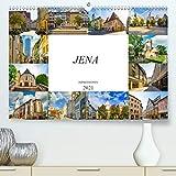 Jena Impressionen (Premium, hochwertiger DIN A2 Wandkalender 2021, Kunstdruck in Hochglanz)