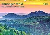Thüringer Wald Das Grüne Herz Deutschlands (Wandkalender 2021 DIN A3 quer)