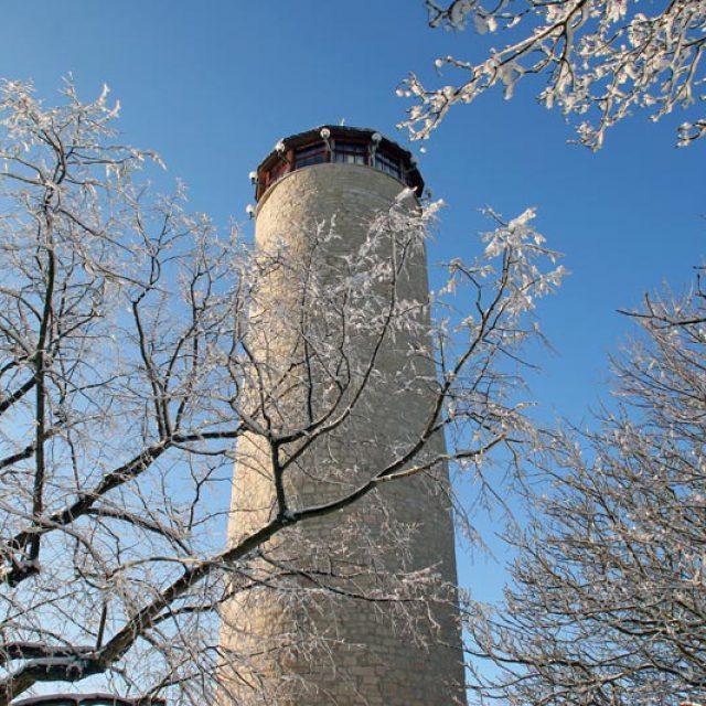 Winterlicher Fuchsturm