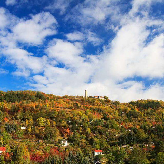 Herbstlicher Hausberg