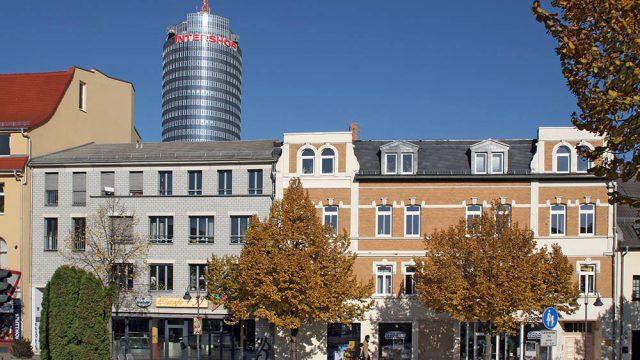 Herbst in Jenas Innenstadt