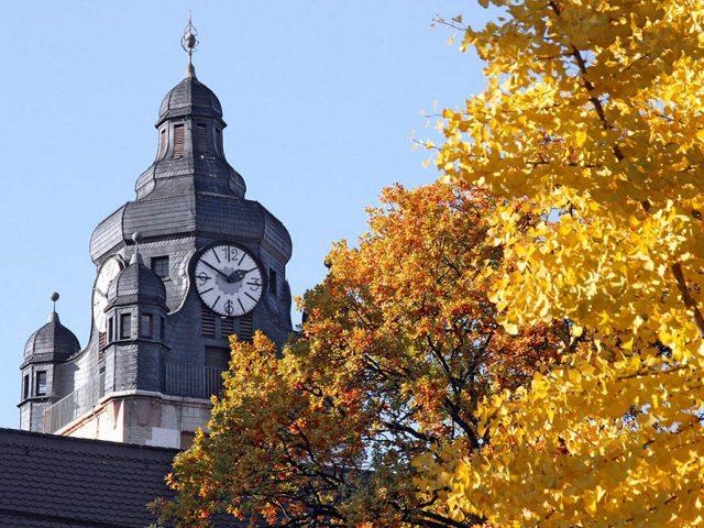Herbst an der Uni