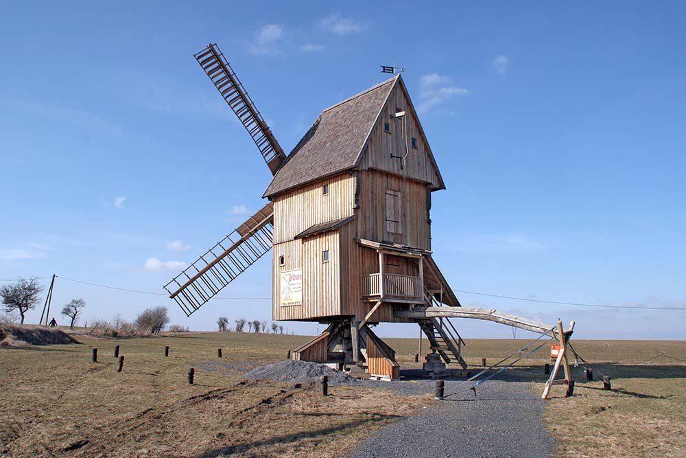 Bockwindmühle in Krippendorf