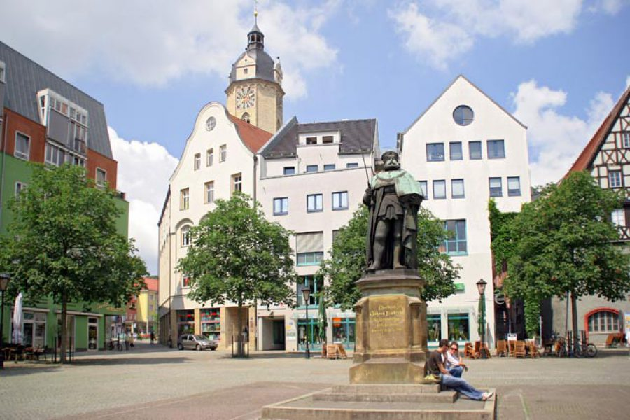 Historischer Marktplatz von Jena