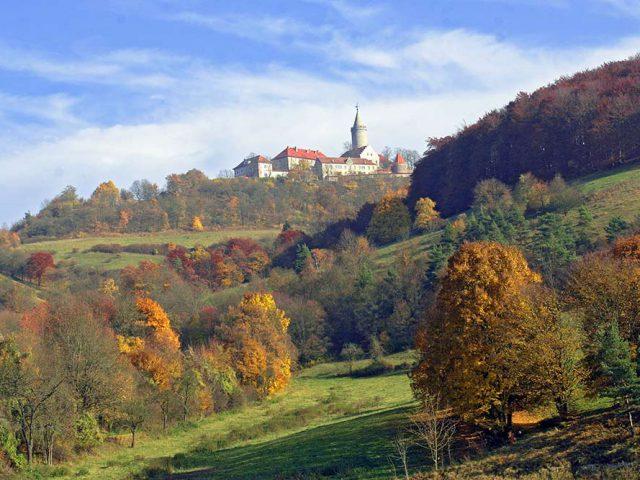 Herbststimmung an der Leuchtenburg