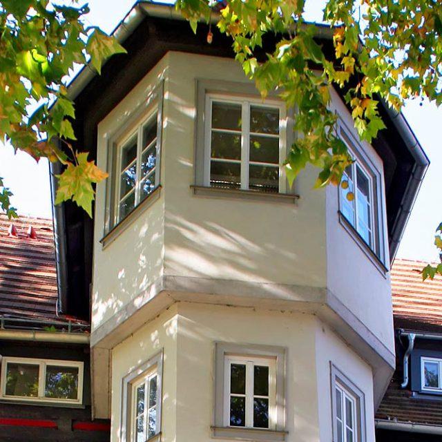 Das Platanenhaus in Jena